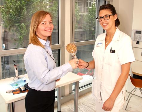 Final del tratamiento de ortodoncia. Clínica Janer Ortodoncia Barcelona